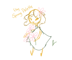 Yay! It's spring palette!