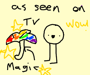 Magic umbrella as seen on TV