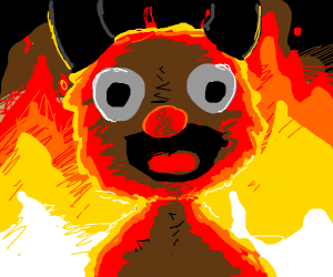 devil elmo