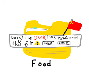 The USSR has terminated this file