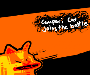 Coupari cat in smash bros