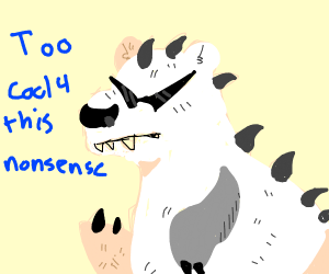 Polarbearsaurus is too cool for this nonsense