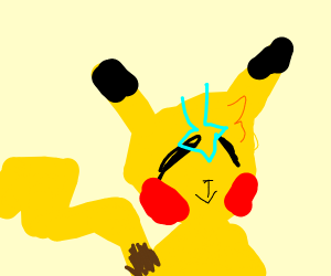 Pikachu airbender face