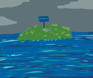 An island nowhere