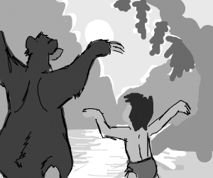 Look for the bare necessities