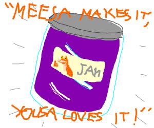 Jar Jar Binks Jam Jar