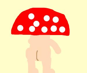 Mushroom is mooning you