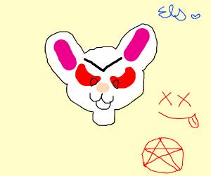 Satanic Rabbit Monster