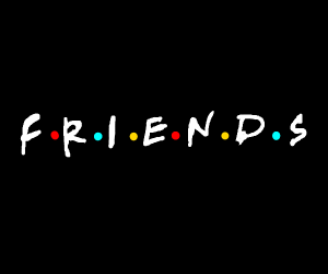 """Friends"" the series"