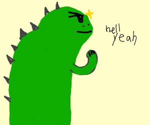 Ambitious Godzilla