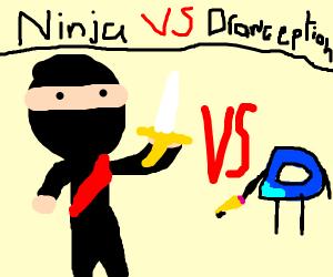 ninja vs drawception