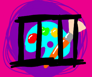 art in jail
