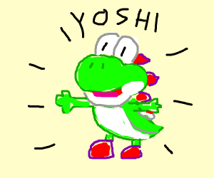 the naming of yoshi