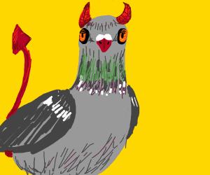 pigeon satan