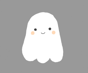 a happy ghost friend
