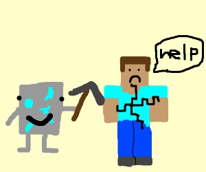 Free Draw! But it has to involve Minecraft