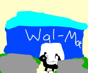 skunk at wal-mart