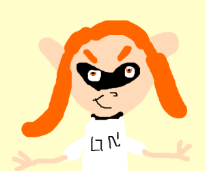 Orange Splatoon girl