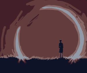 Fiery Annular Eclipse