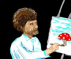 happy lil mushroom