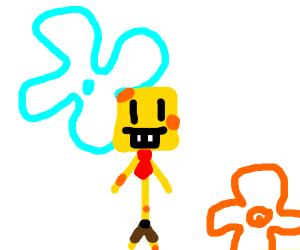 Stickman? Or SpongeBob?