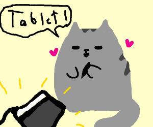 fat cat get graphic tablet