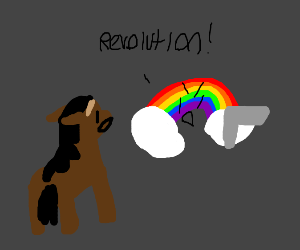 House is surprised about rainbow revolution