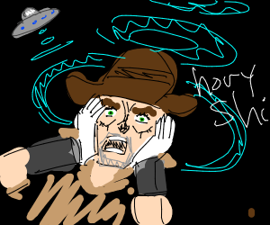 Joseph Joestar gets abducted by aliens