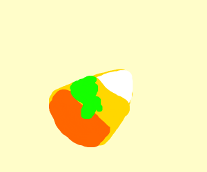 poisoned candy corn