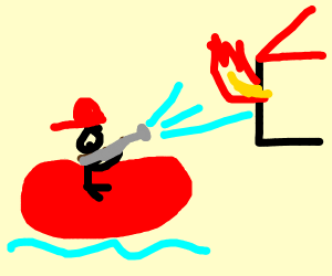 Raft Firefighter
