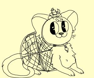 Cute waffle cat!!