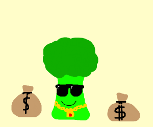 Brocolli is rich
