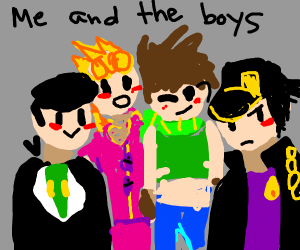 me and the boys but JoJo