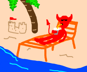 The Devil Takes a Holiday!