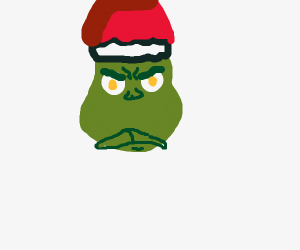 The Grinch on Xmas Eve