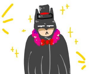 Batman the male model