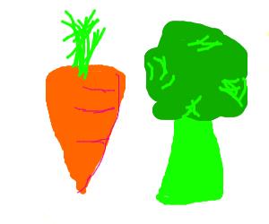 Carrot And Broccoli