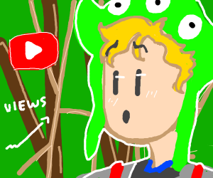 logan paul in the kill myself forest