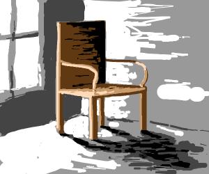 A brown chair