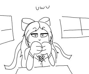 Monika plays DDLC
