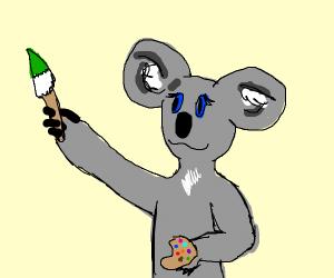 Koala paints