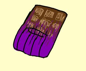 THANOS CHOCOLATE BAR THANOS CHOCOLATE BAR