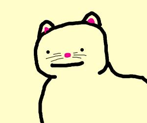 Polite cat (the meme) - Drawception