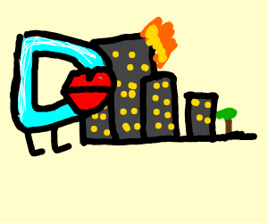 Drawception takes over city with hidden mouth