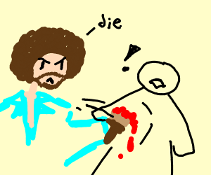 bob ross vs no face