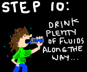 Step 9: run and don't look back!