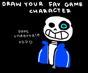 Draw Your Favourite Game Character Drawing By Aeterlux Drawception