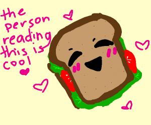 hapy sandwich