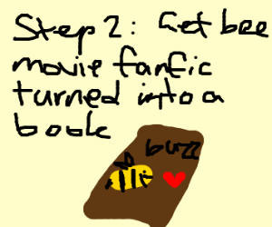 Step 1: Write a Bee Movie Fanfic