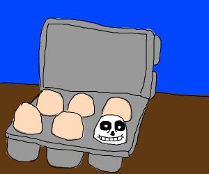 Sans egg